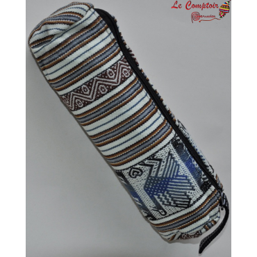 Trousse en tissu péruvien