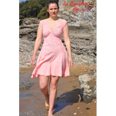Robe coton naturel