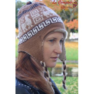 Bonnets péruviens reversibles