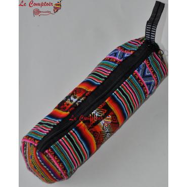 Trousse en tissu des Andes