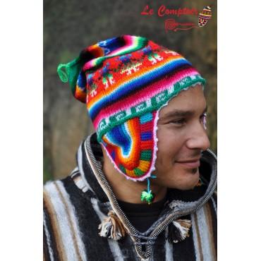 Authentique bonnet péruvien...